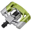 Crankbrothers Mallet 2 Pedal raw/grün